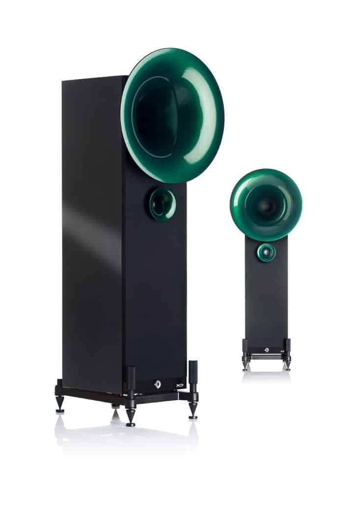 Smaragd Pearl Green - Noir Satin