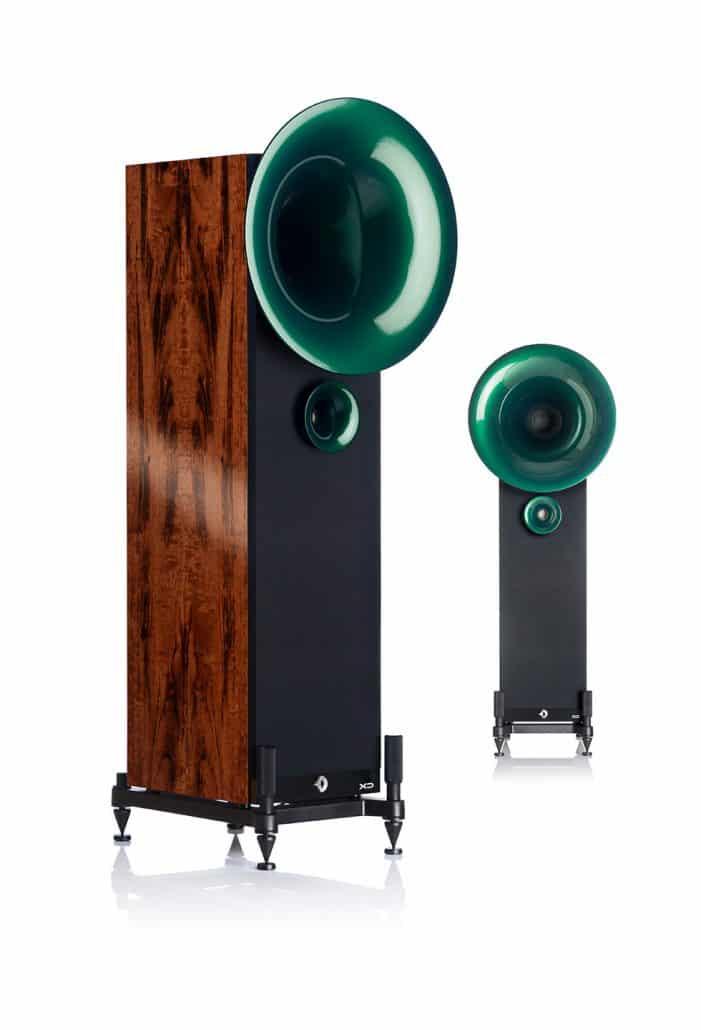 Smaragd Pearl Green - Tiger-Rosewood