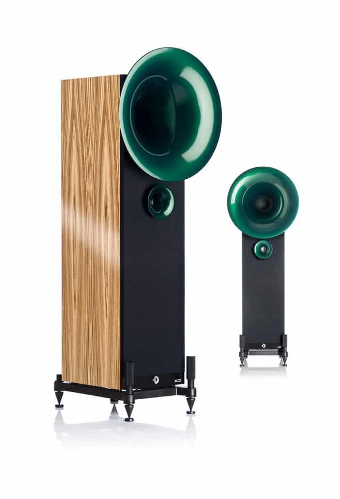 Smaragd Pearl Green - Zebrano